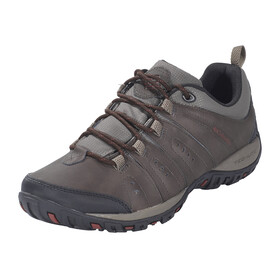 Columbia Peakfreak Woodburn II Shoes Men Cordovan, Garnet Red